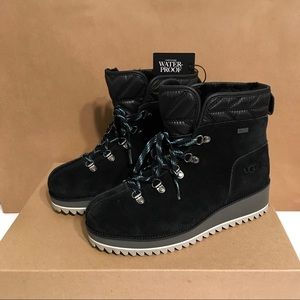 UGG Shoes - UGG BIRCH WATERPROOF LACE-UP BOOTS SZ 5.5 & 6